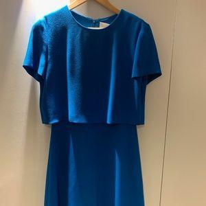 Hugo boss, women's blue dress, size 8 NWT